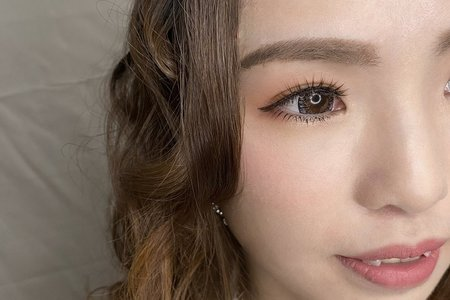 Minami新娘秘書/噴槍底妝~清新馬尾