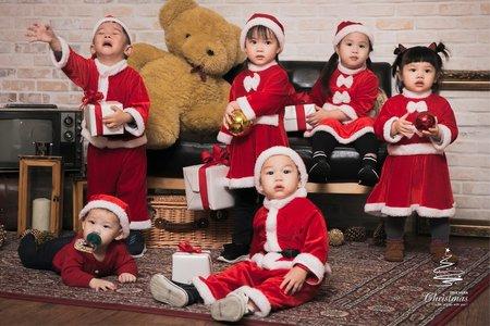 2018聖誕寶寶團拍
