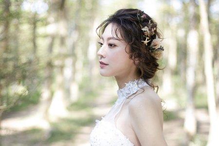 日系浪漫輕線條髮絲