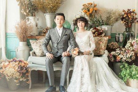 台南婚紗希臘風情婚紗館|晨儀&家誼|