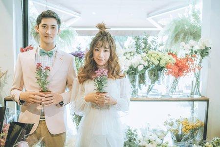台南婚紗希臘風情婚紗館|葆葆&憲憲|