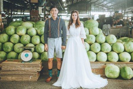 台南婚紗希臘風情婚紗館|魚仔&小民|