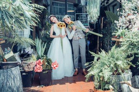 台南婚紗希臘風情婚紗館 |Jasmine Chiang  & 鄒銜  |