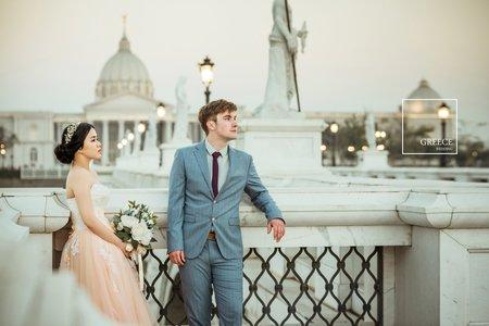 台南婚紗希臘風情婚紗館|Dylan & 欣儀|