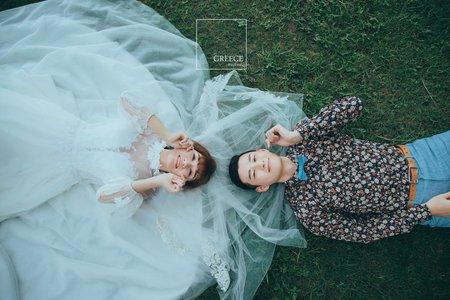 台南婚紗希臘風情婚紗館|楊鎧&瓊瑩|
