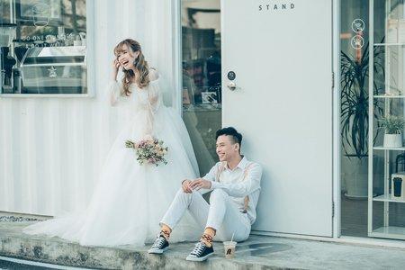 台南婚紗希臘風情婚紗館 | 初戀味道的小清新婚紗