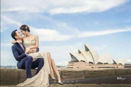 海外婚紗外景造型