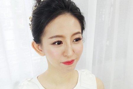 好日子18/02/20詠貽訂婚單妝(工作室化妝)