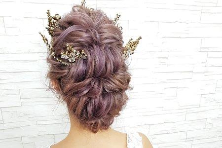 新娘指定髮型專區(各種髮質髮長)