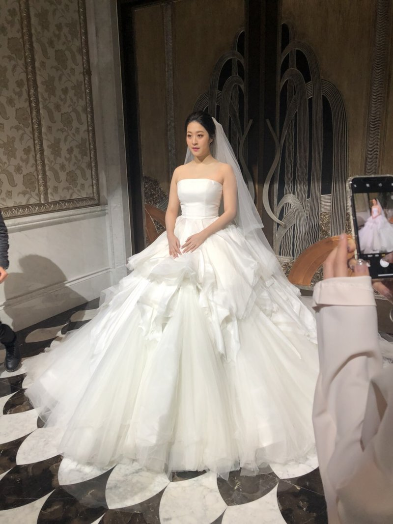安以軒親妹妹婚宴指定造型~歐美時尚造型