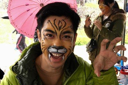新竹動物園彩繪老師