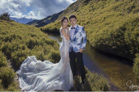 婚紗拍攝 - 合歡山