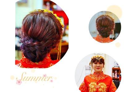 [WEDDING DAY-皇潮鼎宴單妝髮]