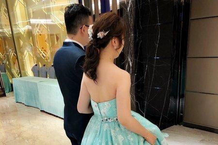 [ Wedding day -午宴4造型]