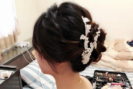 [莘雅]訂結單妝髮