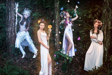 四季女神-團拍創作