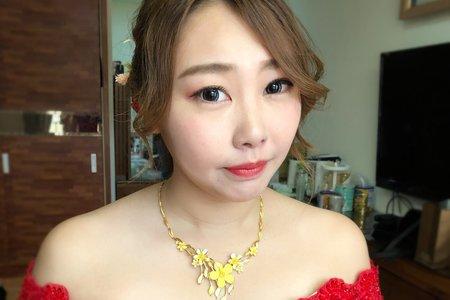 [平日 weddingday 單妝髮]