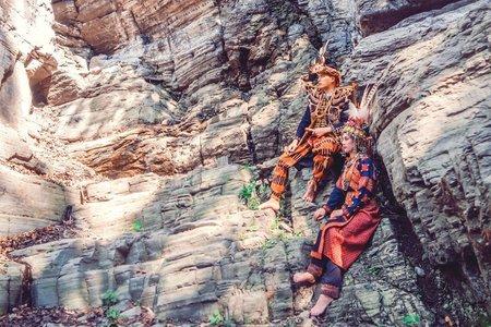 排灣族原住民傳統創作拍