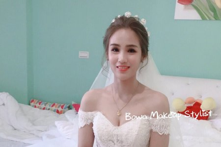 108/04/06 Bride苡恩 白紗造型