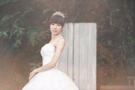 婉婷 Prewedding 婚紗造型