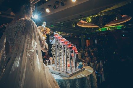 2018/04/21 《一對喜歡旅行的新人 》 單宴客 高雄 夢時代頤品大飯店