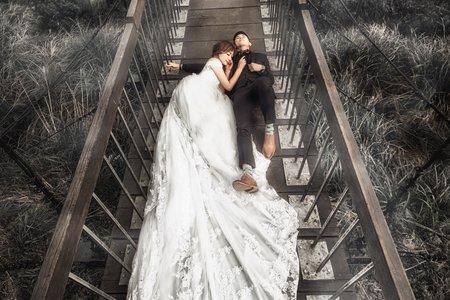 婚紗照-吊橋