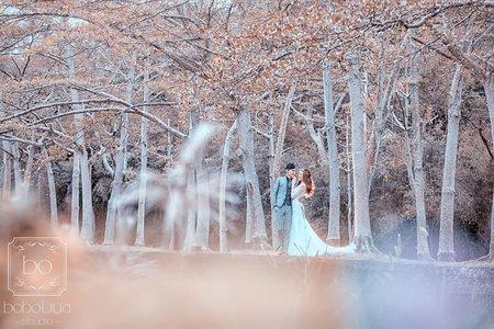 婚紗照-冬