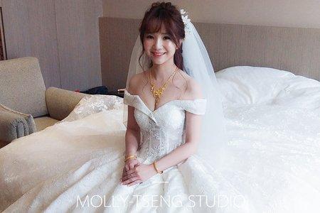 曾茉莉 | 新娘婚宴造型 | 2012~2017