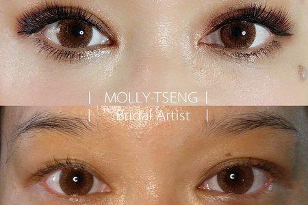 曾茉莉 | 彩妝技巧-眼型調整 |
