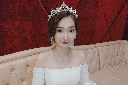曾茉莉 | 新娘婚宴造型 | 2019