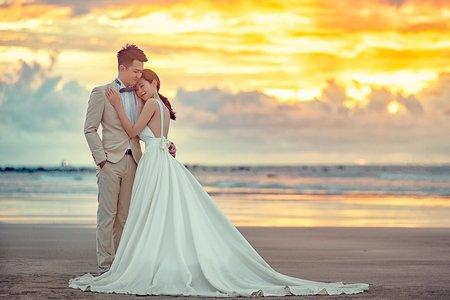 浪漫歐風|時尚大片|海邊夕陽