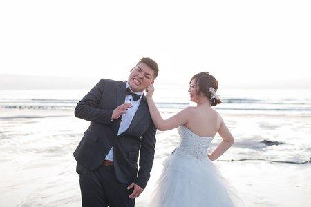 海邊夕陽|韓風棚拍|浪漫可愛