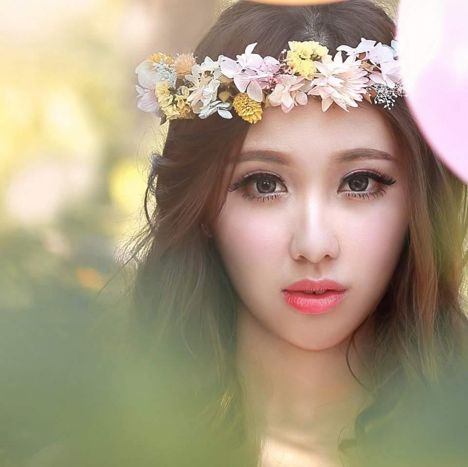 Sandy婚禮韓風精緻彩妝造型
