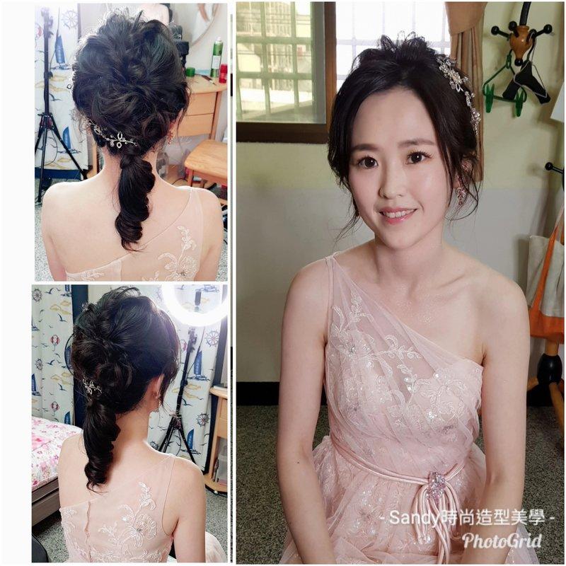 2019.4~6月份台南新娘午宴4造型作品