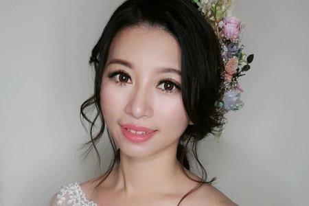 台南市新娘造型服務午宴3造型+贈媽媽髮