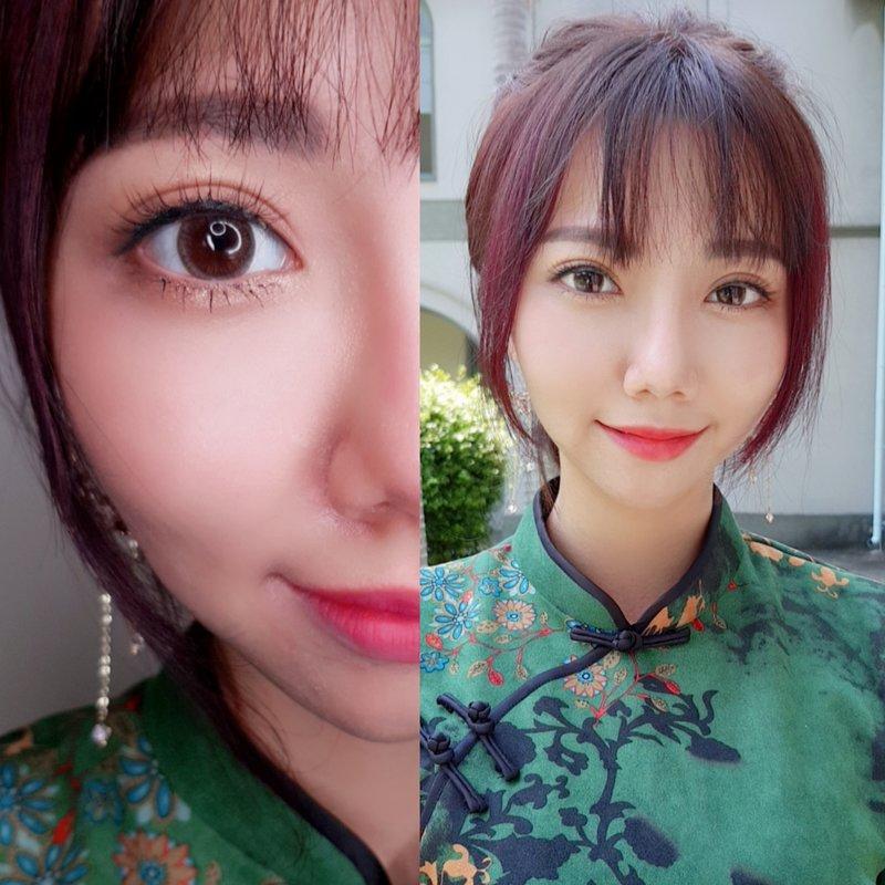 台南新娘1造型+2位親友妝髮作品