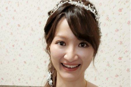 台南市新娘午宴3造型+媽媽妝髮