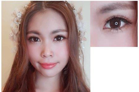 新娘單妝整體造型、新娘單妝造型+媽媽妝髮