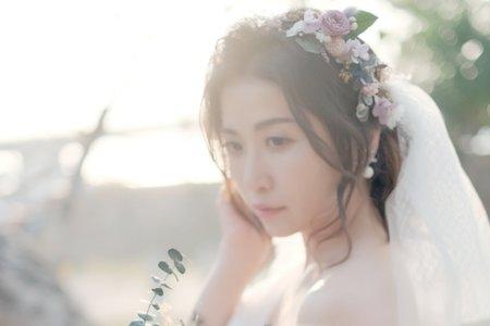 日系逆光自助婚紗