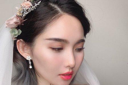 時尚仙女新娘造型-霧霧新娘