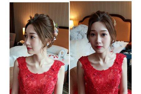 韓系甜美優雅妝容