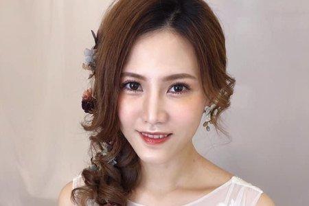 韓系雜誌 仙氣髮絲與妝感