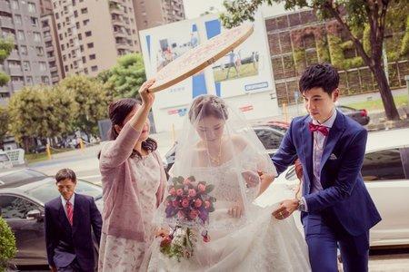 婚禮攝影 | 台中 | 世華+霈雯