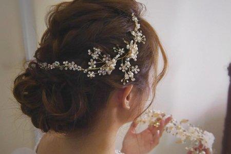 婚宴現場--多層次編髮