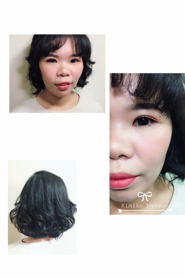 媽媽妝髮/伴娘妝髮/新郎妝髮作品