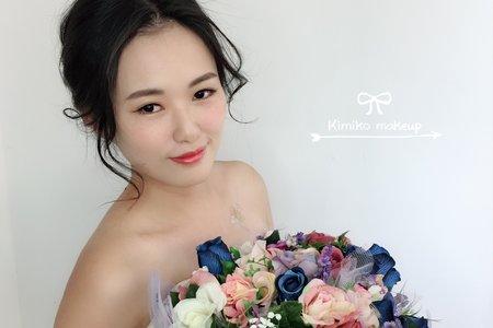 KimikoMakeup岑-書璇-新秘工作紀錄