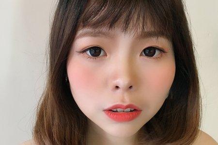 KimikoMakeup岑-白白-新秘作品