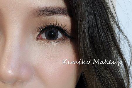 KimikoMakeup岑-陳's-寫真外拍精緻妝容
