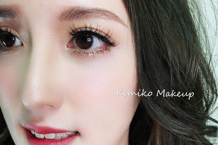 KimikoMakeup岑-竹均-新秘工作紀錄