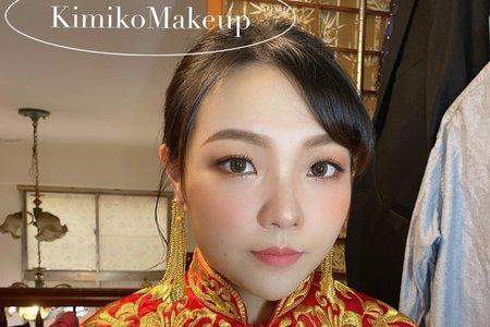KimikoMakeup岑-薇-婚禮工事